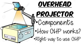 HOW OVERHEAD PROJECTORS WORK in Hindi |EDUCATIONAL TECHNOLOGY AND ICT|B.Ed|