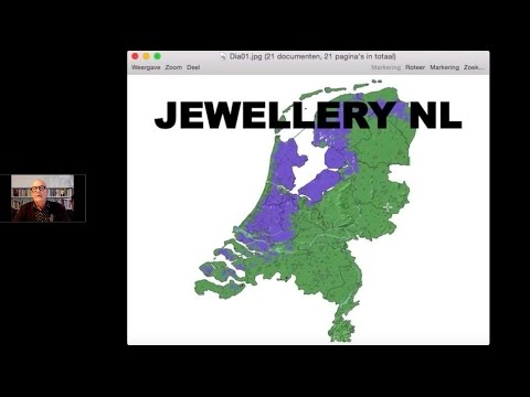 """Metallophone: Bonds"" ""Jewelry NL"" with jewellery artist Ruudt Peters and others (NL)"