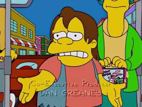 No puedo comprar otra lonchera porque soy pobre - Frases Homero & Cia