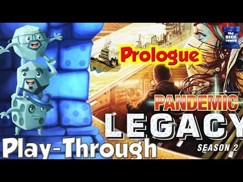 Pandemic Legacy Seas 2 Play Through  Prologue