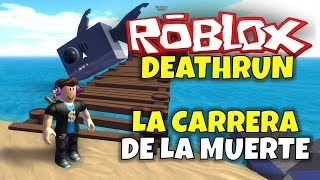 RACE FOR SURVIVAL! ROBLOX: DEATHRUN