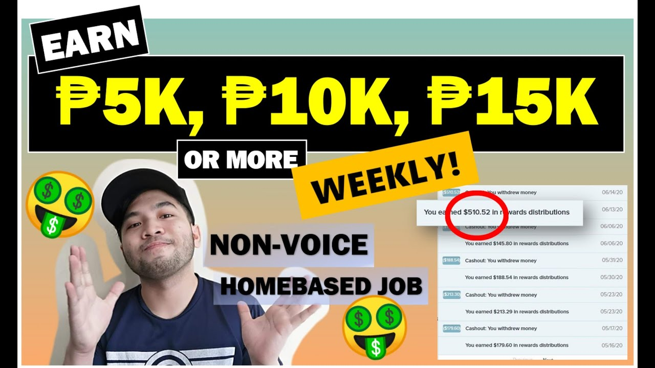 Download EARN 5k,10K,15k OR MORE WEEKLY   NON VOICE HOMEBASED JOB   LEGIT PART TIME   Directly.com tutorial