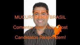 Candidato Prefeito FERNANDO Mucuri 2012 Bahia Brasil