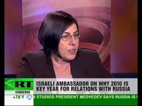 Israeli ambassador on why 2010 could be key year in realtions with Russia