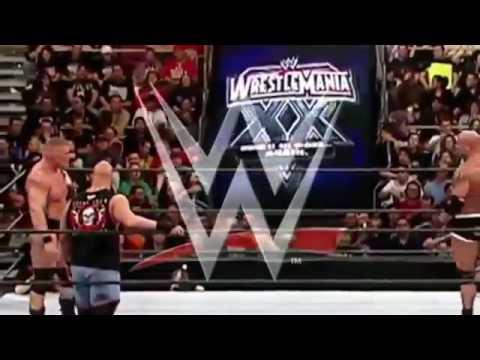 Goldberg vs Brock Lesnar  Stone Cold  RAW  WWE Royal Rumble HD thumbnail
