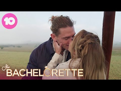 Timm And Angie Get Heavy In A Hot Air Balloon | The Bachelorette Australia