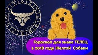 Гороскоп знака Зодиака ТЕЛЕЦ на 2018 год Желтой Собаки