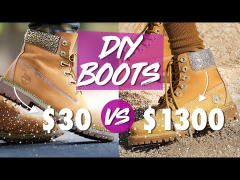 Jimmy Choo X Timberland Boots For 30 Diy Hack By Orly Shani Youtube