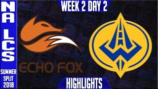 Video FOX vs GGS Highlights | NA LCS Summer 2018 Week 2 Day 2 | Echo Fox vs Golden Guardians Highlights download MP3, 3GP, MP4, WEBM, AVI, FLV Juli 2018
