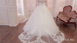 Свадебное платье 2016 года от VESILNA™ модель 3085