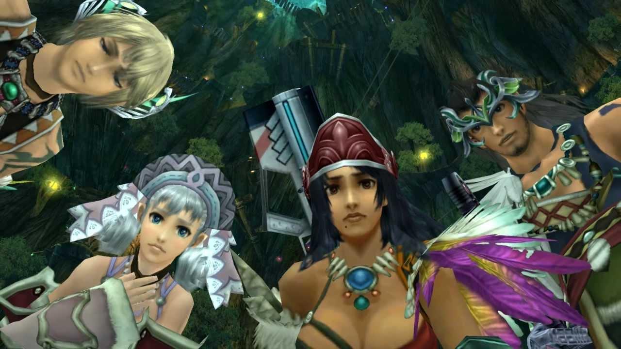 Xenoblade Chronicles HD Cutscene 054 Meet Riki The