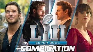 Super Bowl 2018   ALL Spots & Trailers Compilation for Blockbuster Movies