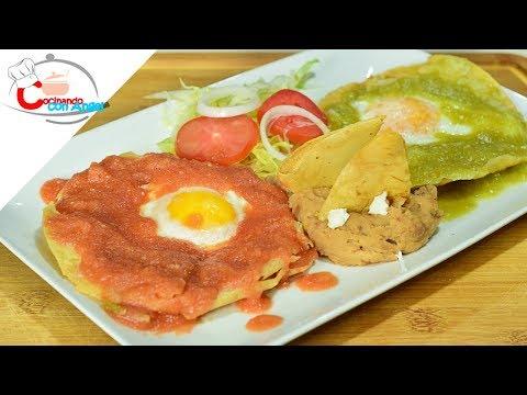Huevos Divorciados Desayuno Mexicano
