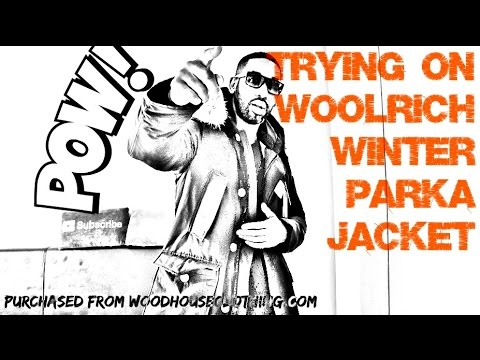 Trying On WOOLRICH WINTER PARKA SUPER WARM | Full Review | Weekly Buys