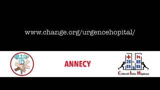 Le clip choc des infirmières et des personnels hospitaliers d'Annecy (Subs Eng, Ger, Spa)