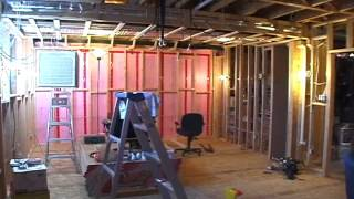 Theater Room Construction