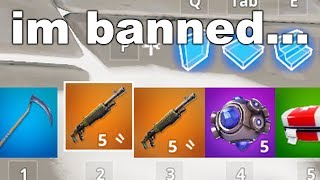 I found a DOUBLE PUMP glitch in Fortnite and got BANNED...