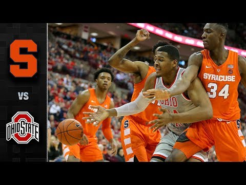 Syracuse vs. Ohio State Basketball Highlights (2018-19)