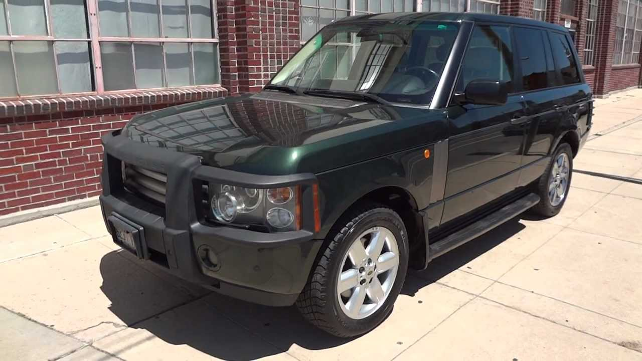 2003 Land Rover Range Rover One Family Owned 83k Miles For