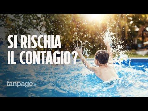 Si rischia il contagio da coronavirus in piscina? Cosa dice l'esperto