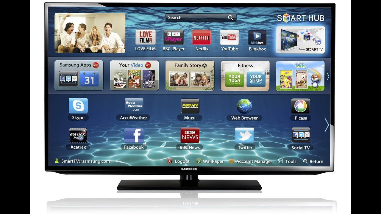 samsung 32 inch smart tv review youtube. Black Bedroom Furniture Sets. Home Design Ideas
