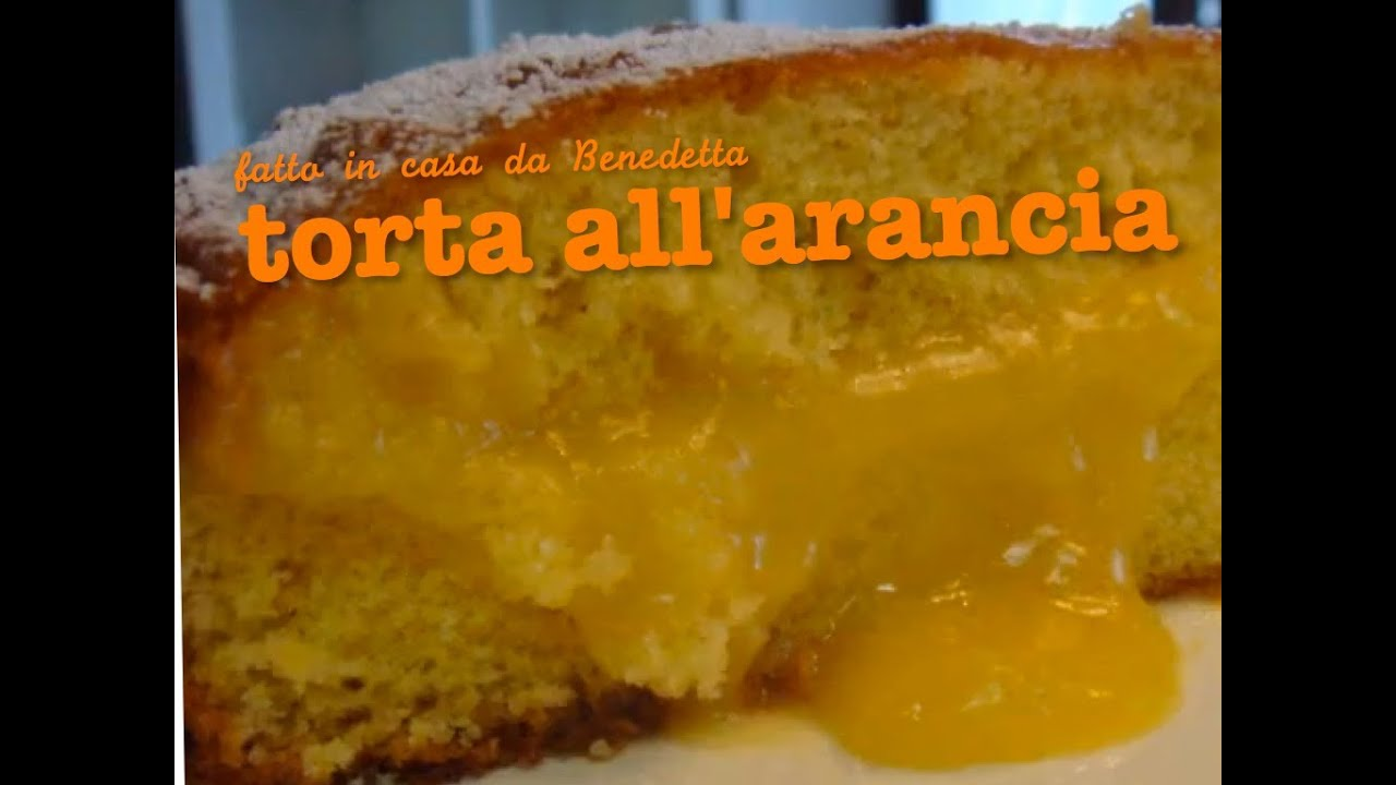 Torta con crema all arancia fatta in casa da benedetta youtube