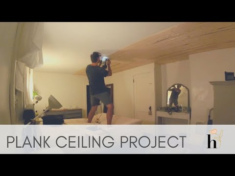Plank Ceiling Project