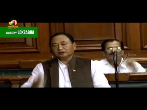 Congress MP Ninong Ering Speech In Lok Sabha | PM Modi Copying UPA Schemes | Mango News