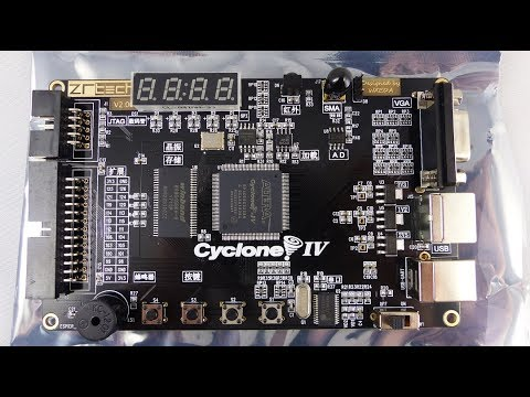 EP4 FPGA Dev Board - First Look