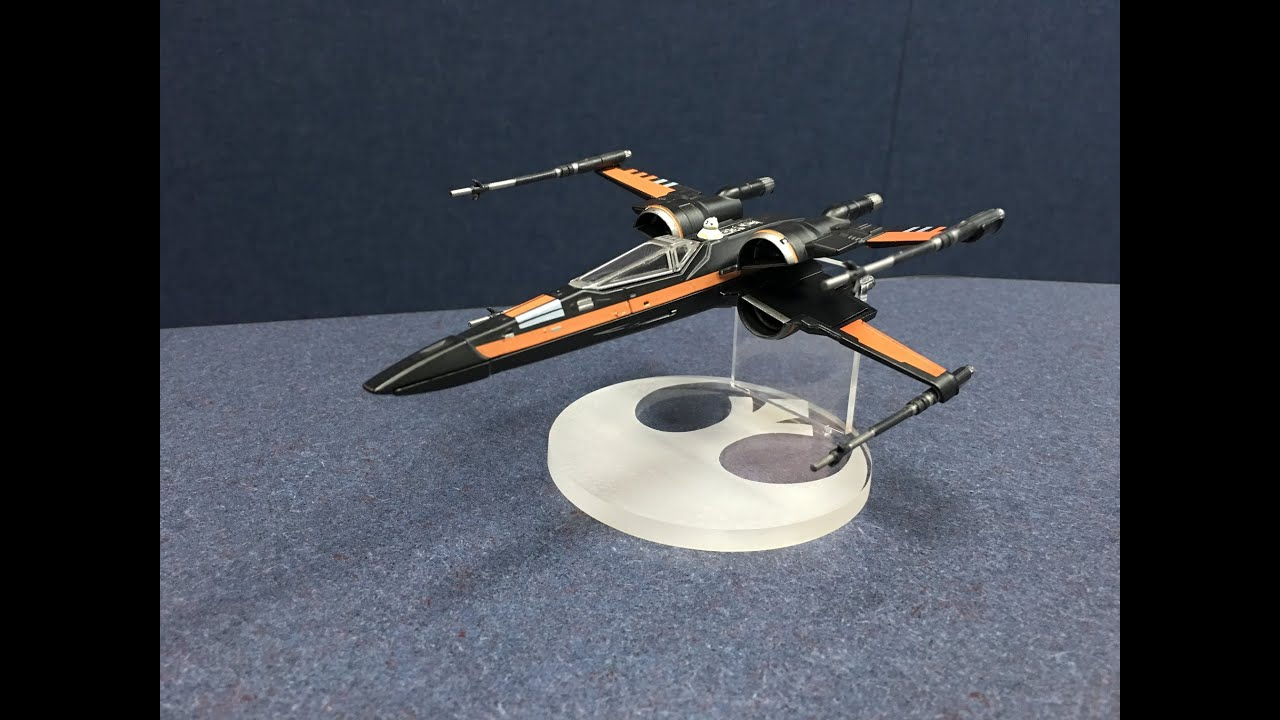 Disney Diecast X Wing Fluxdimensions Stand For Diecast Poe S X Wing Disney Store