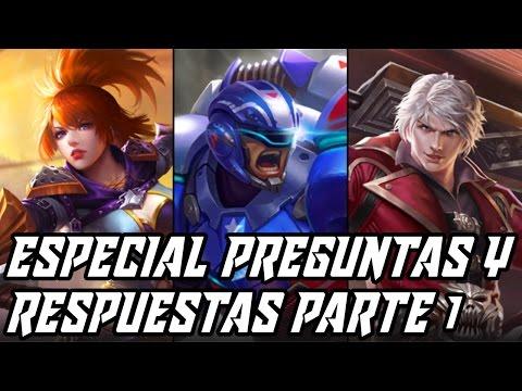 ¡FANNY + A. JOHNSON + ALUCARD! | ESPECIAL PREGUNTAS Y RESPUESTAS PARTE 1 | Mobile Legends Español