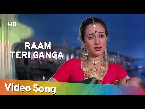 Ram Teri Ganga Maili Ho Gayee - Title Song - Mujra - Mandakini - Bollywood Old Songs