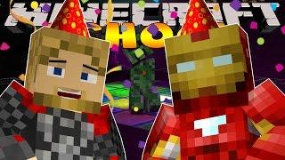 Minecraft School : IRON MAN SURPRISE BIRTHDAY PARTY!