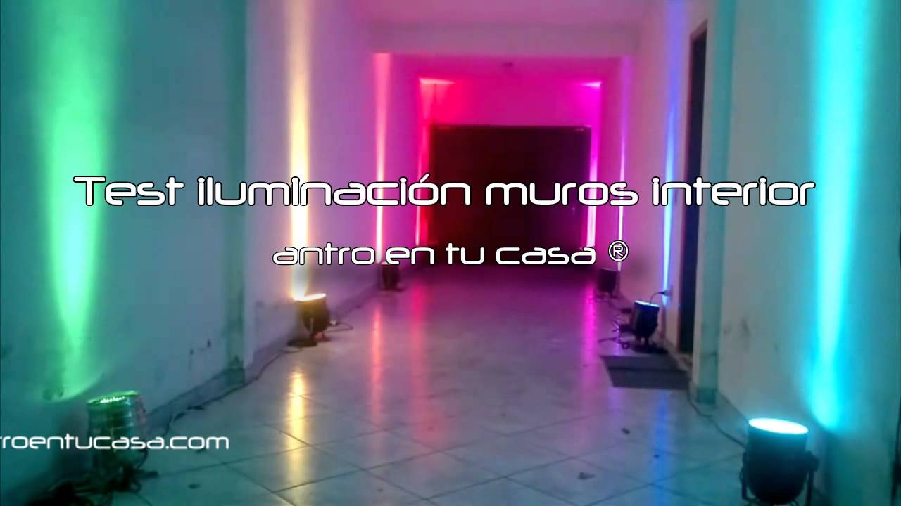 Iluminaci n led para muros y techos youtube - Iluminacion led casa ...