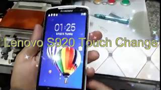Lenovo S920 Touch Replacement