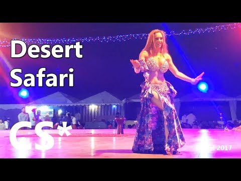 Dubai desert safari with BBQ dinner, belly dancing and more!