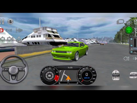 Real Driving Sim - Dodge Challenger Driving in Monaco - Car Games Android Gameplay