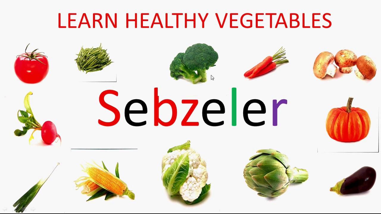 Vegetables Learn Vegetable Names In