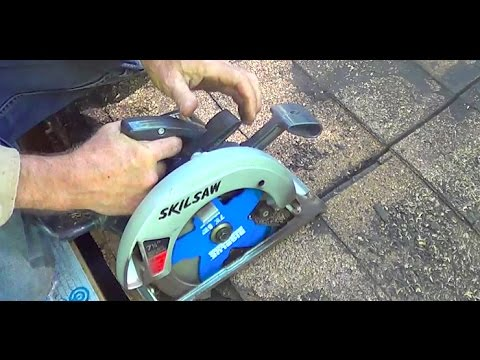 Bigblue Demolition Circular Saw Blade Test On Roof