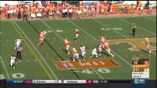 Tennessee vs Bowling Green: Offense play by play