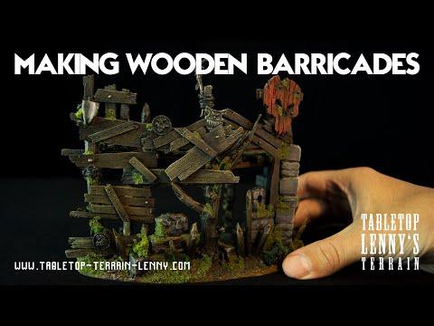 Terrain Tutorial: Making A Wooden Barricade