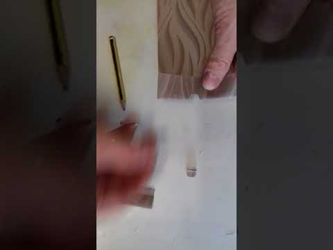Vertical blind trimming. Diy