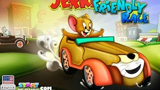 Tom & Jerry Car Friendly Race Games