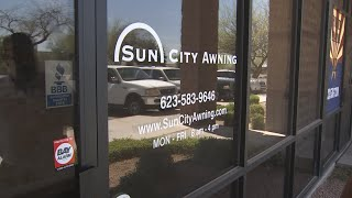 License suspended for awning company in El Mirage