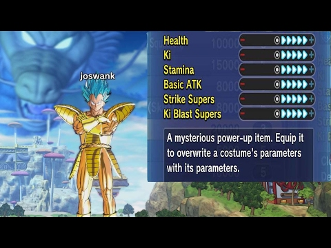 GOLD BATTLESUIT QQ BANG MIX | Ultimate QQ Bang | DB Xenoverse 2