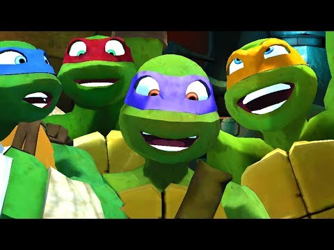 Nickelodeon Teenage Mutant Ninja Turtles All Cutscenes | Full Game Movie (X360, Wii)