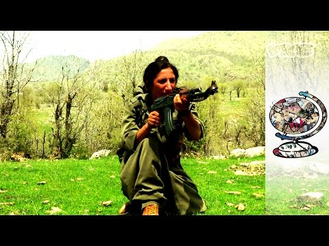 The Female Guerrillas Fighting for Kurdish Independence (201