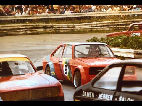 Autorennen Gelsenkirchen 1982 NSU,Glas GT,Simca,BMW 2002,Fiat Abarth Almaring