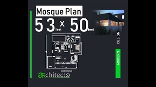 Mosque Design with google Sketchup By Interior Design