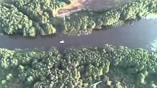 Ballonfahrt 03.08.2011 Himmelpfort nach Priepert Sonnenuntergang